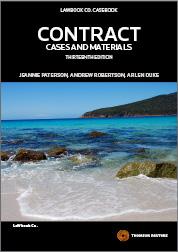 Contract Cases & Materials 13e