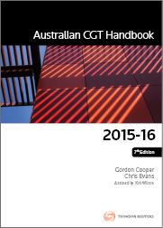 Australian CGT Handbook 2015-16