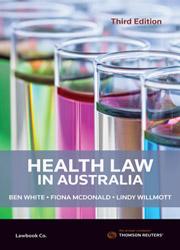 Health Law in Australia 3E