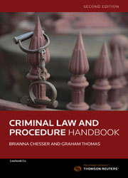 Criminal Law and Procedure Handbook 2nd Ed