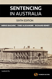 Sentencing in Australia 6e