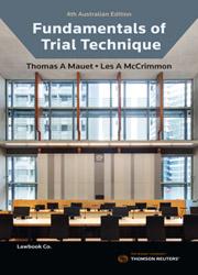 Fundamentals of Trial Technique 4e