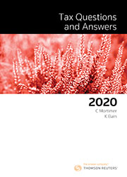 Tax Questions & Answers 2020