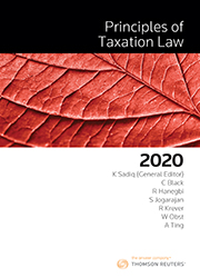 Principles of Taxation Law 2020