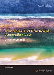 Principles & Practice Aust Law 4e