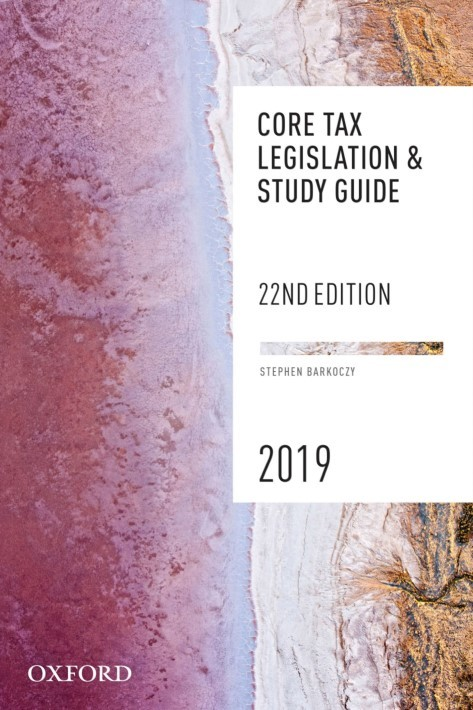 Core Tax Legislation and Study Guide 2019