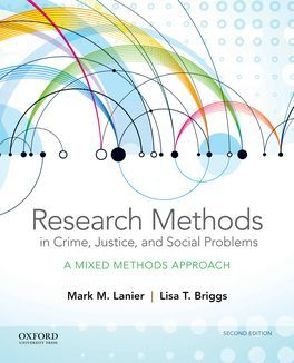 Research Methods in Crime, Justice and Social Problems
