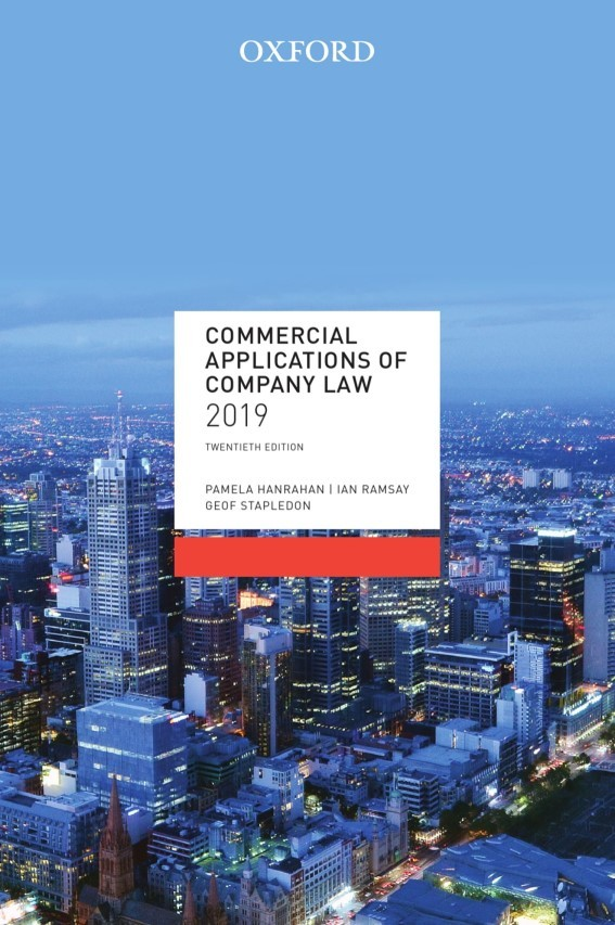Commercial Applications of Company Law 2019