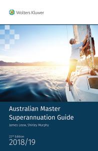 Australian Master Superannuation Guide 2018/19