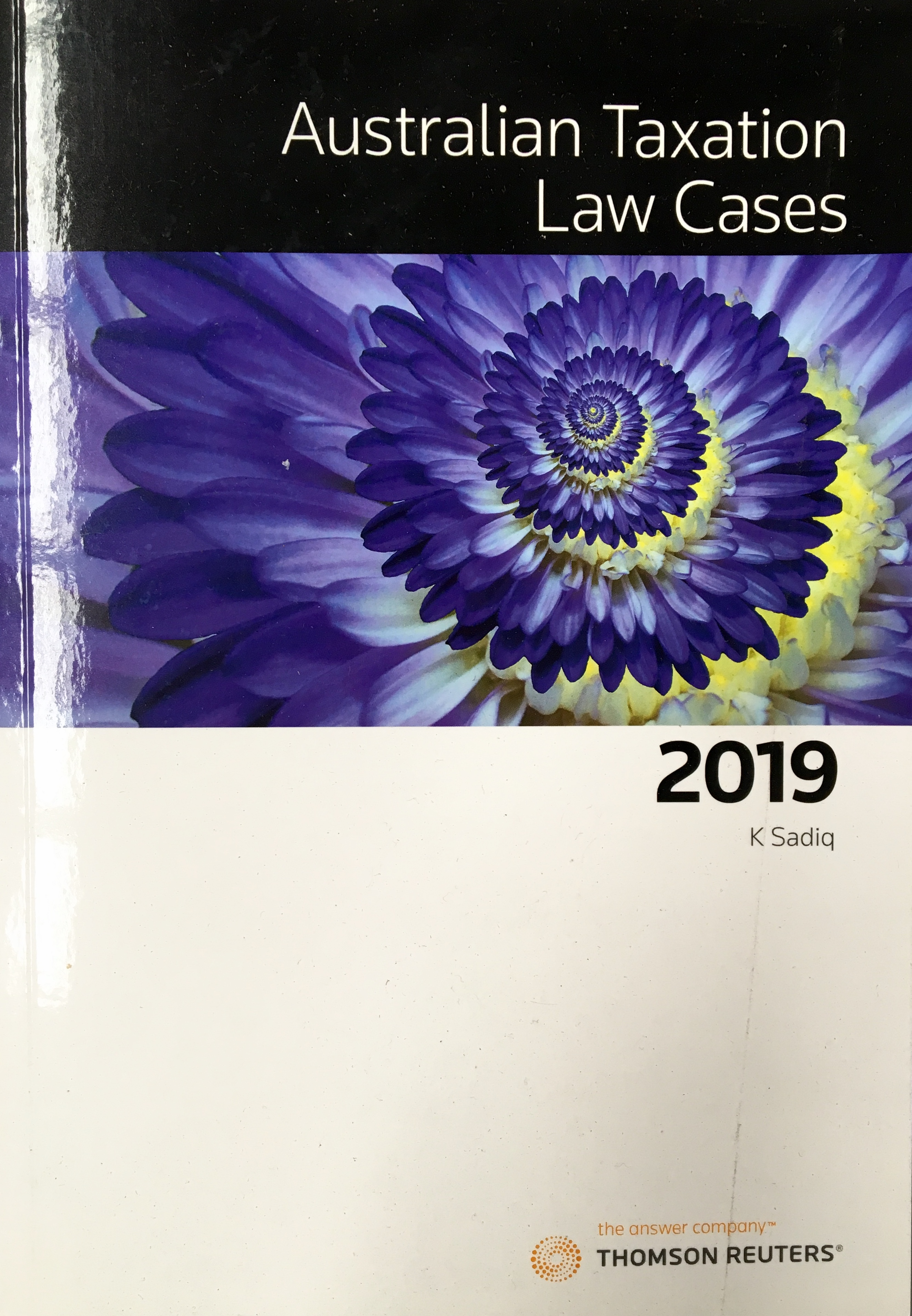 Australian Taxation Law Cases 2019