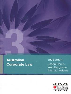 Australian Corporate Law - eBundle Harris, Hargovan & Adams