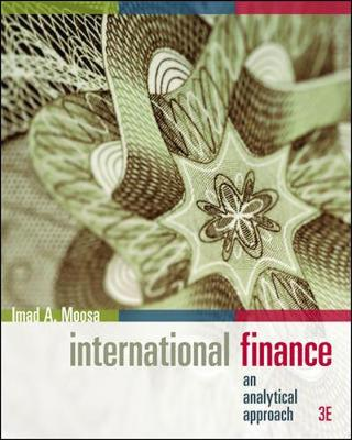 International Finance: an analytical approach