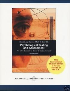 Psychological Testing and Assessment 7th edition