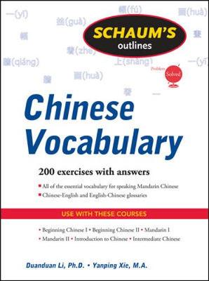 Schaum's Outline of Chinese Vocabulary