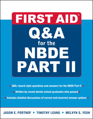 First Aid Q&A for the NBDE Part II