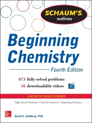 Schaum's Outline of Beginning Chemistry (EBOOK)