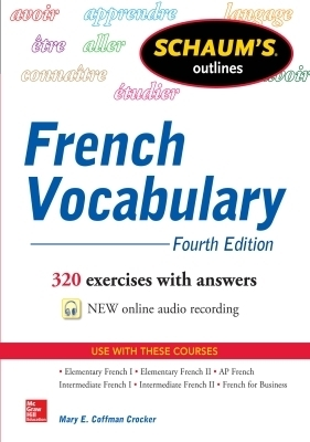 Schaum's Outline of French Vocabulary, Fourth Edition