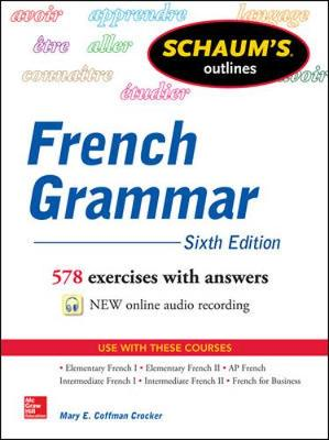 Schaums Outline of French Grammar 6/E