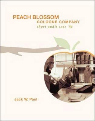 Peach Blossom Cologne Company with CD