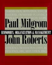 Economics, Organization and Management: United States Edition