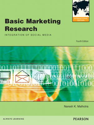 Basic Marketing Research: International Edition
