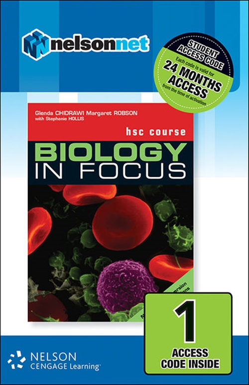 Biology in Focus HSC Course with Options (1 Access Code Card)