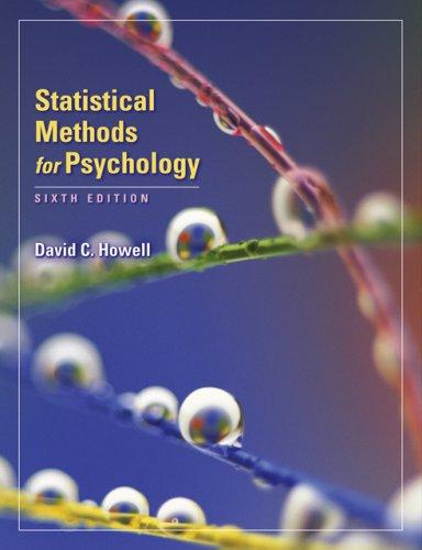 Bundle: Statistical Methods for Psychology + SPSS: A Practical Guide Version 20.0