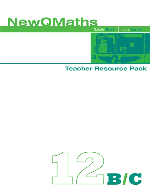 New QMaths 12B & 12C: Teacher Resource Pack and CD-ROM : Teacher  Resource Pack and CD-ROM
