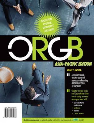 ORGB: Asia Pacific Edition with Online Study Tools