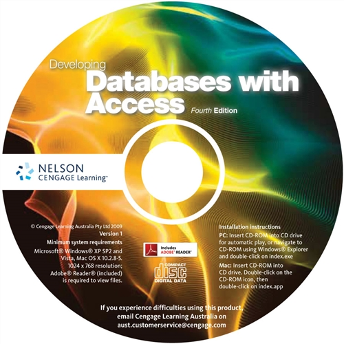 Developing Databases with Access