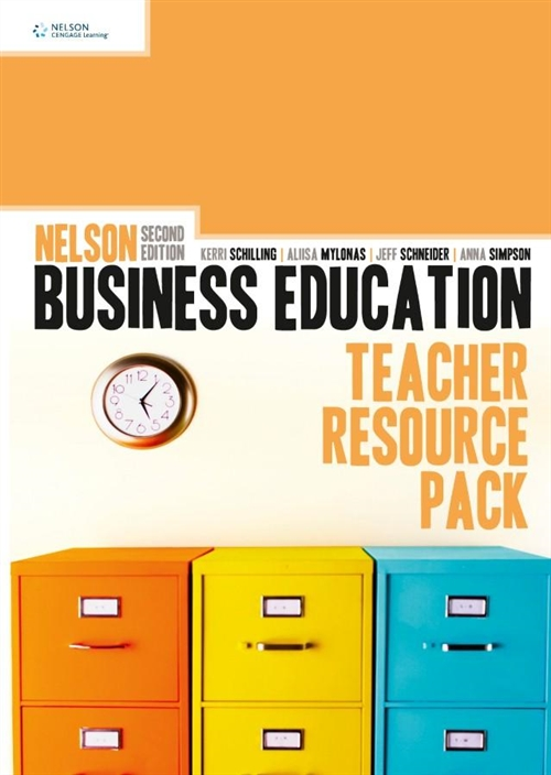 Nelson Business Education Teacher Resource Pack
