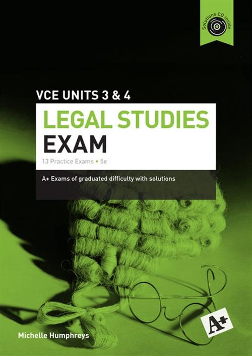 Legal Studies Exam VCE Units 3 & 4
