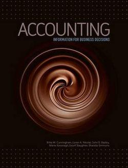 Accounting: Information for Business Decisions with Online Study Tools 1 2 months