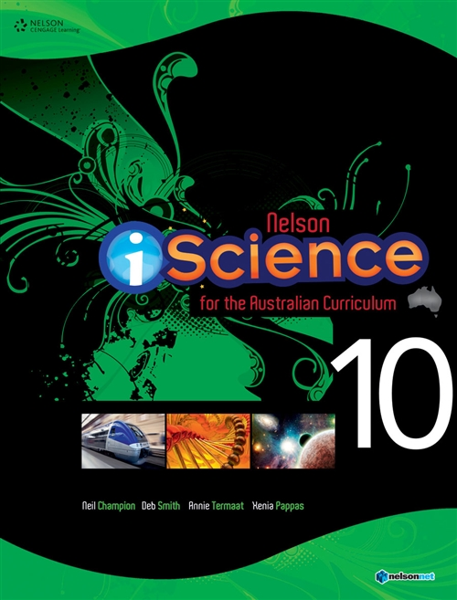 Nelson iScience for the Australian Curriculum Year 10 (Student Book  with 4 Access Codes)