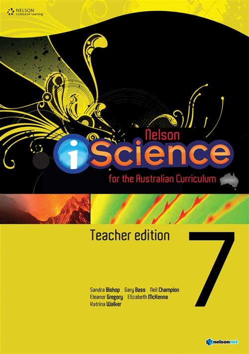 Nelson iScience Year 7 Teacher's Edition