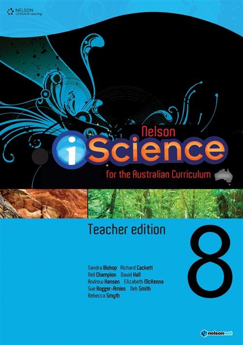 Nelson iScience Year 8 Teacher's Edition