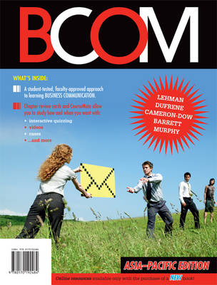 BCOM Asia Pacific Edition with Online Study Tools