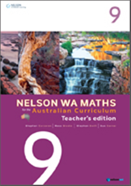 Nelson WA Maths for the Australian Curriculum Year 9 Teacher's Edition