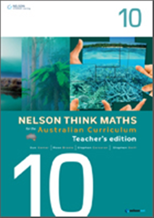 Nelson Think Maths for the Australian Curriculum Year 10 Teacher's  Edition