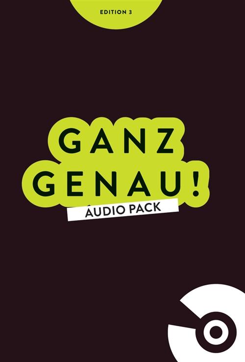 Ganz Genau! Audio Pack