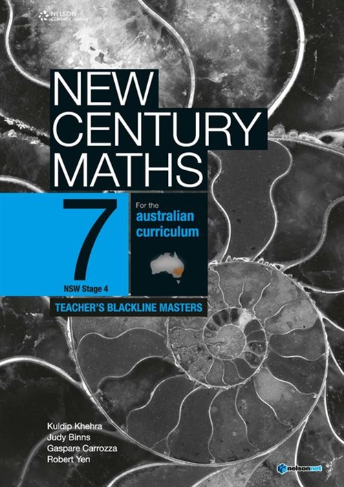 New Century Maths 7 Teacher's Blackline Masters