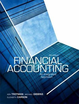Financial Accounting - An Integrated Approach with Student Access Card 12 Months (with new copies only)