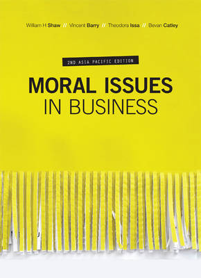 Moral Issues in Business + 12 month Student Resource Access (new copies only)