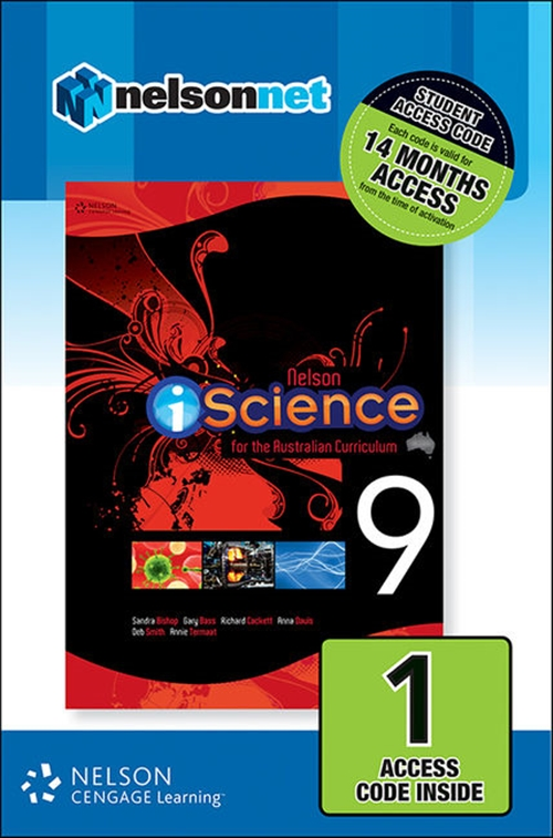 Nelson iScience Year 9 for the Australian Curriculum (1 Access Code  Card)