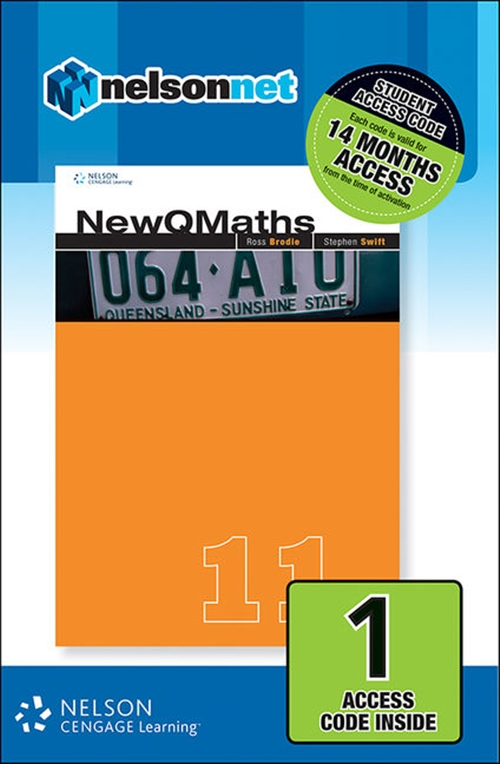 New QMaths 11B (1 Access Code Card)