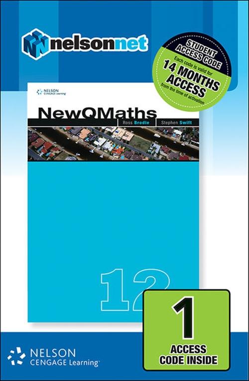 New QMaths 12A (1 Access Code Card)