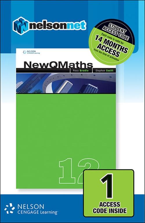 New QMaths 12B (1 Access Code Card)