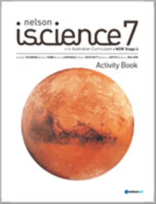 Nelson iScience 7 for the Australian Curriculum NSW Stage 4 Activity  Book