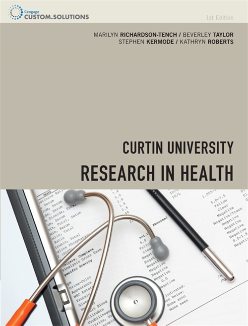 CP0861 - Research in Health with Online Study Tools 12 months