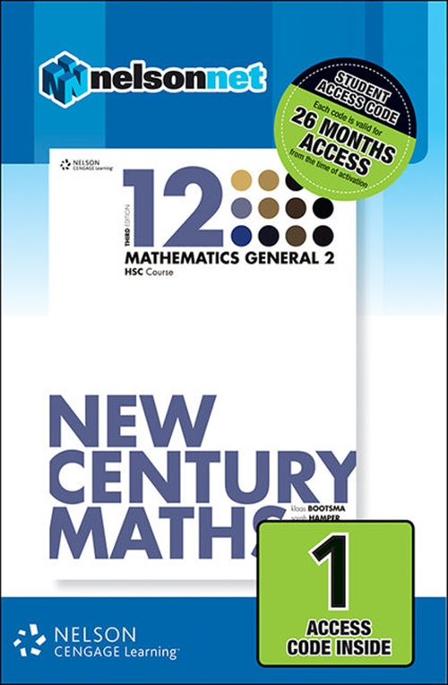 New Century Maths 12 Mathematics General 2 HSC Course (1 Access Code  Card)